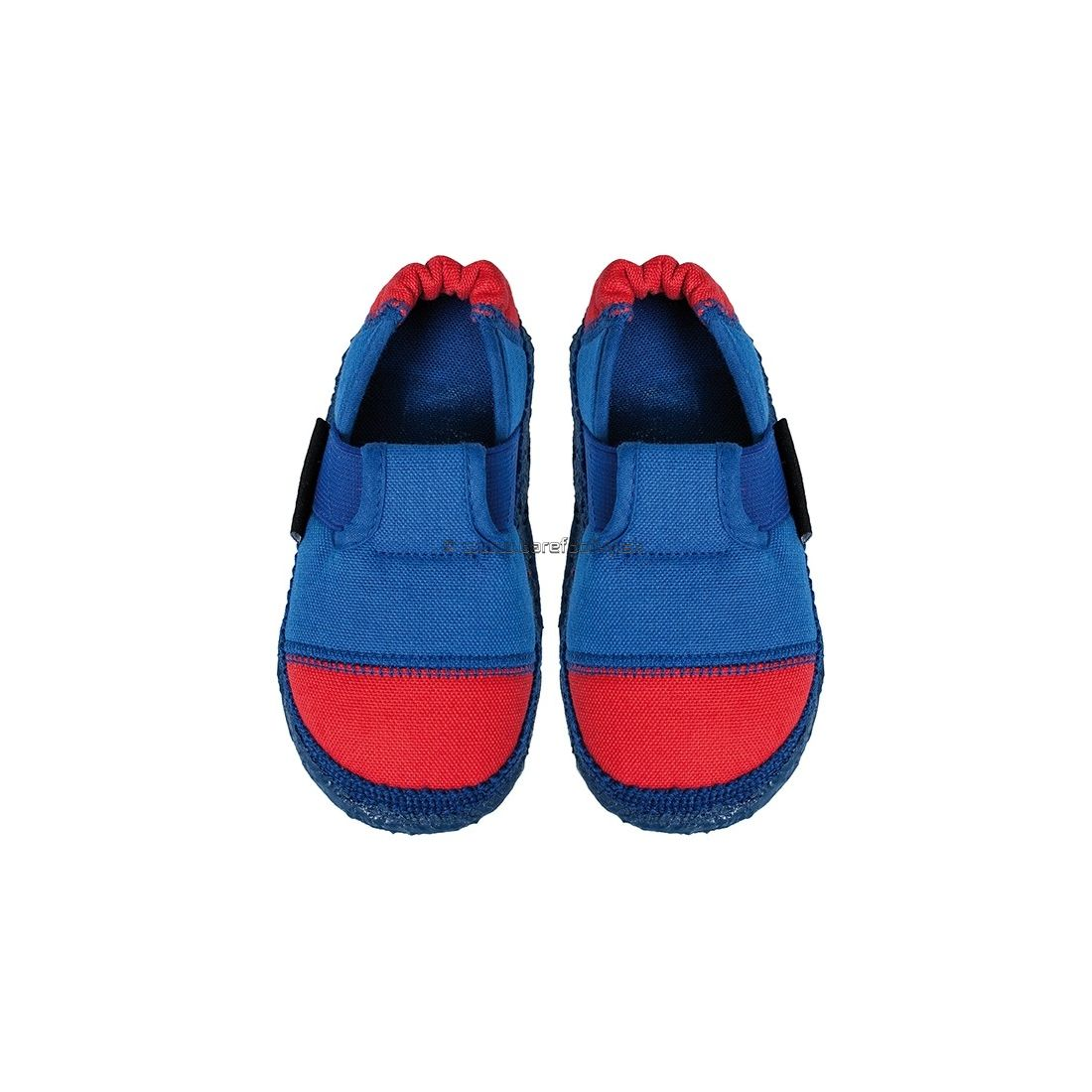 f3f3bd943 Barefootky - Nanga - Nanga - Klette papučky modré