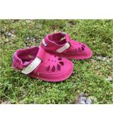 Baby bare shoes IO - summer perforation Waterlily