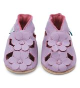 Dotty fish - capačky Purple Flower Sandals